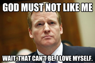 Goodell Meme source says ray rice video was sent from law enforcement to nfl