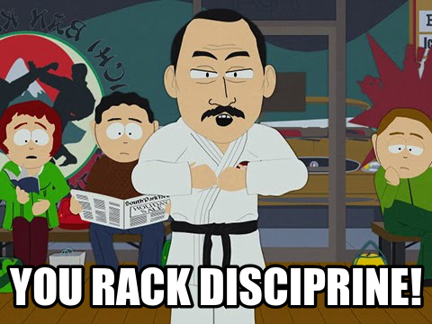 RackDisciprine