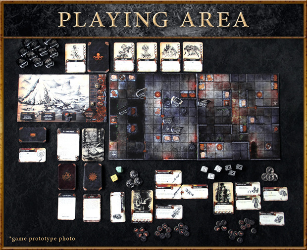 Arcana Playing Area