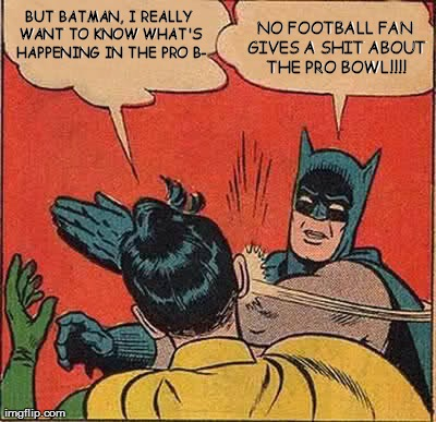 Batman Pro Bowl Slap