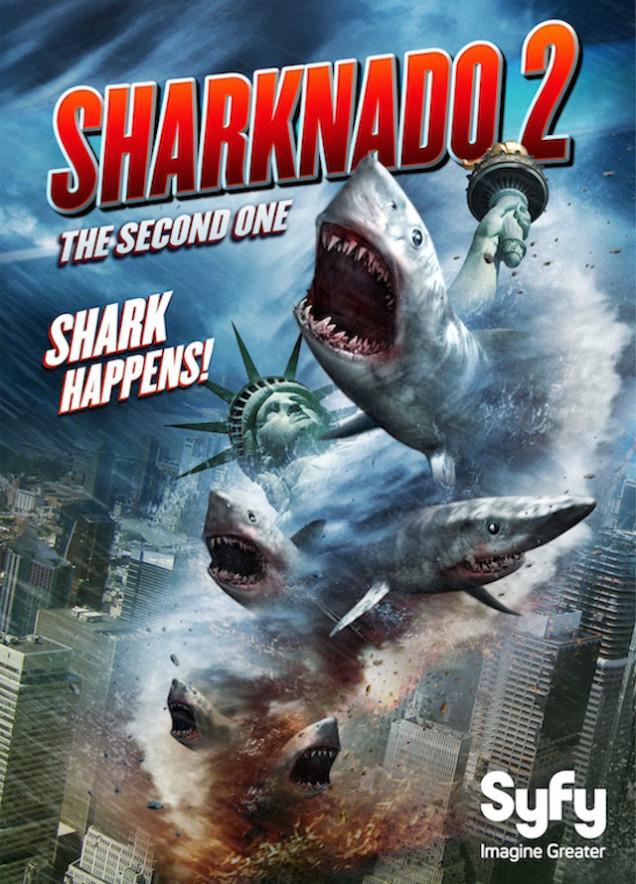 Sharknado2 Poster