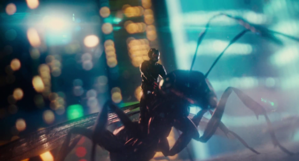 Ant Man Ride